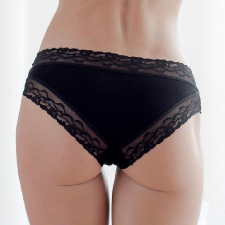 Kalhotky CHEEKINI - BLACK